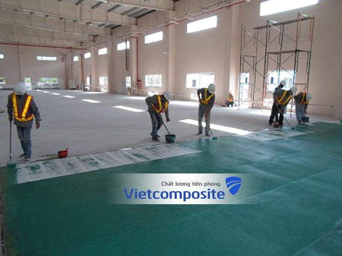 bọc frp composite sàn nhà