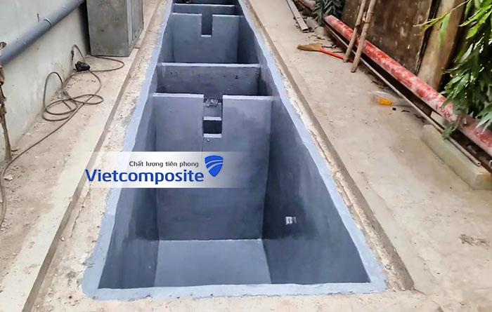 bọc phủ chống thấm composite