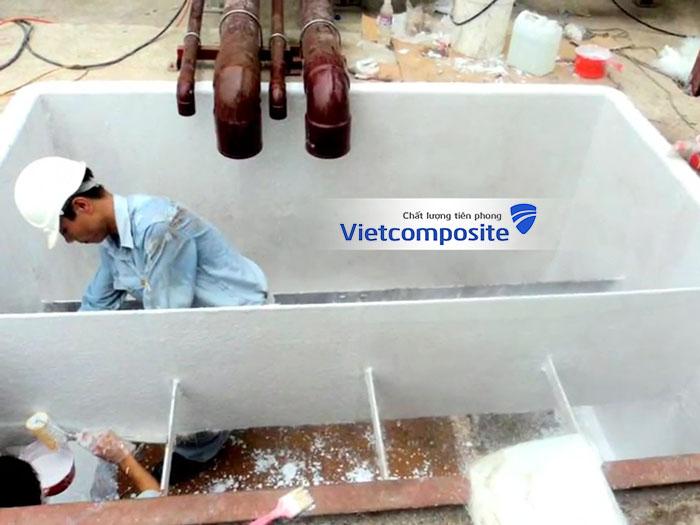 Bọc phủ composite frp chống thấm ngay lập tức