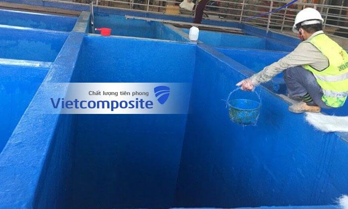 Bọc phủ composite frp chống thấm tại đà nẵng