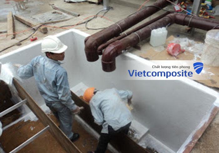 Bọc phủ composite frp lining hà nội hồ chí minh giá rẻ