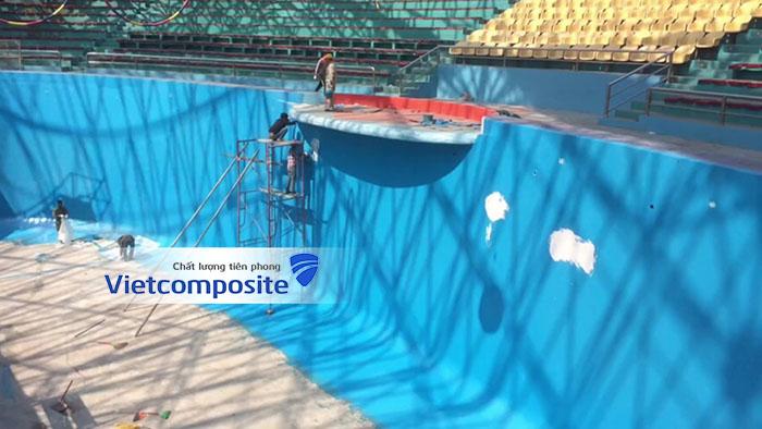 Bọc phủ composite frp lining