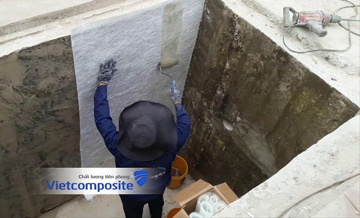 Bọc phủ composite frp lining tại hà nội có giá tốt