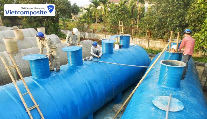 Vietcomposite phân phối, sản xuất bồn bể Composite trên toàn quốc