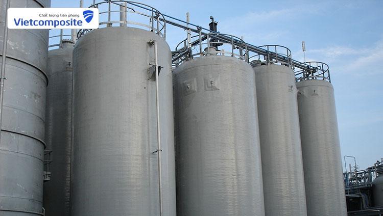 Vietcomposite là nhà sản xuất bồn chứa hóa chất hàng đầu hiện nay