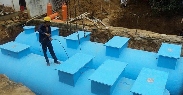 Vietcomposite là chuyên sản xuất bồn composite xử lý nước thải