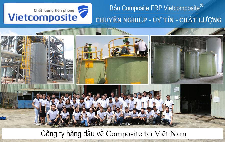 Bồn Composite FRP chất lượng cao