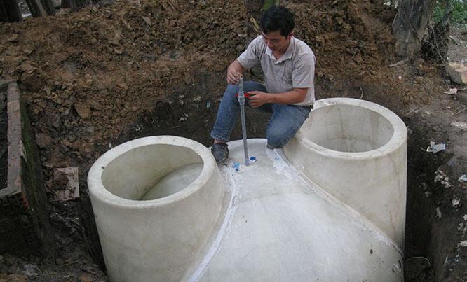 Hầm biogas đang được ứng dụng rất nhiều trong cuộc sống
