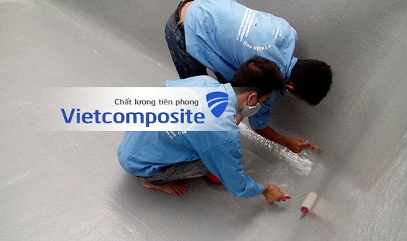 báo giá dịch vụ bọc phủ chống thấm composite