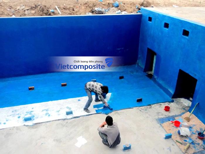 báo giá thi công bọc phủ composite tại Hà Nội