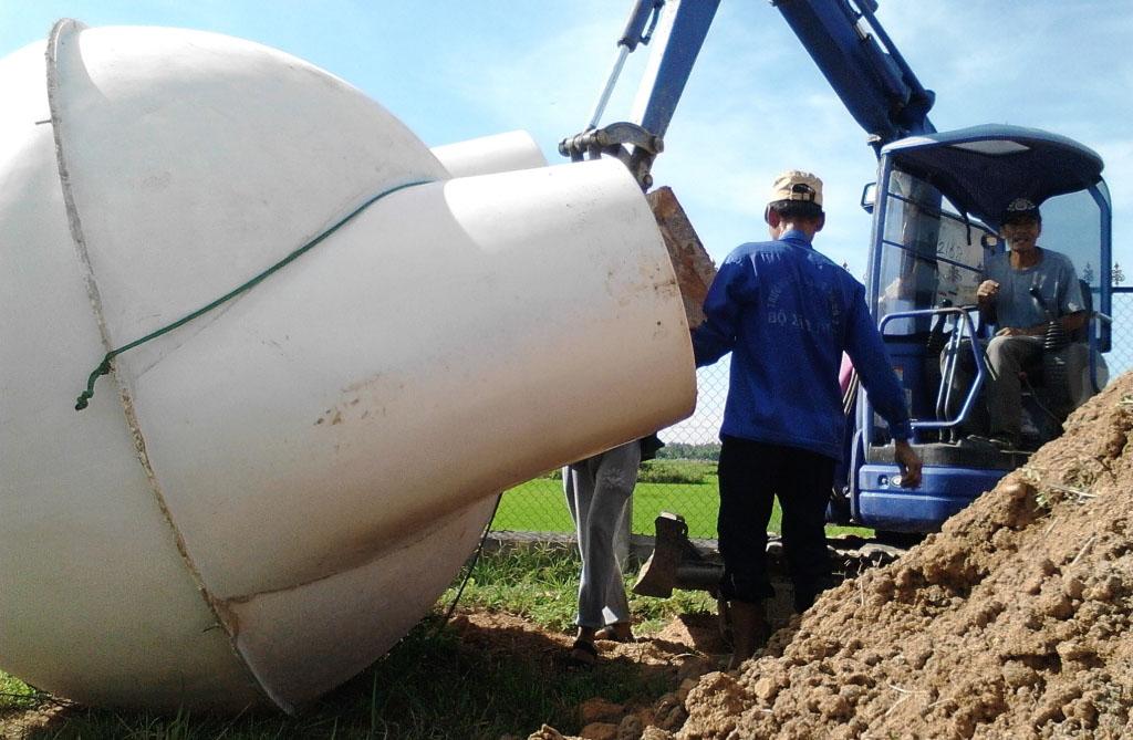 Hầm Biogas Composite giá cao nhưng có nhiều ưu điểm