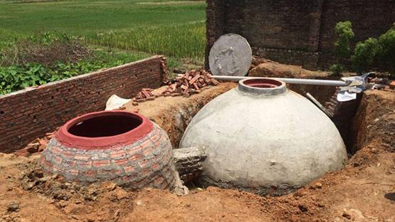 Hầm biogas mang lại nhiều lợi ích về kinh tế và môi trường