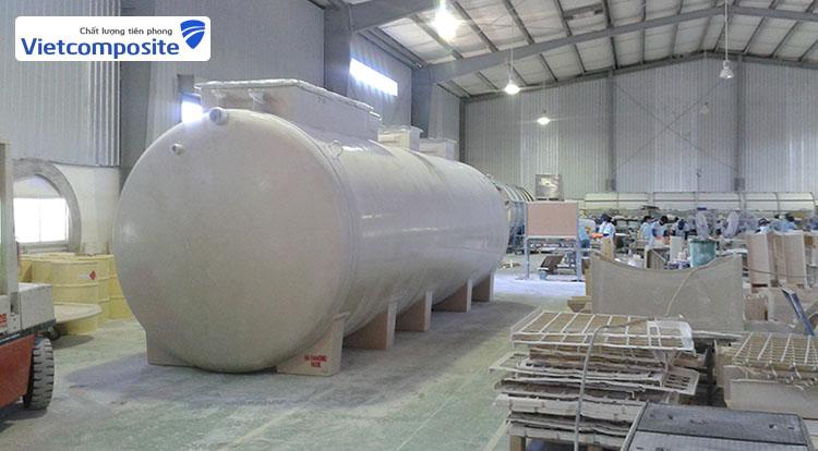 Bồn bể Composite FRP có rất nhiều ưu điếm so với các loại bồn bể khác